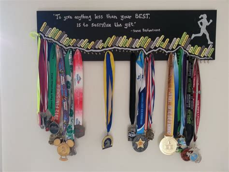 Handmade Medals - 3 50 state medal display board