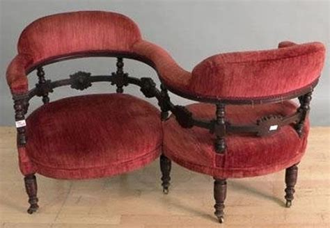 sofa built for two 11 different antique couches sofas and settee styles