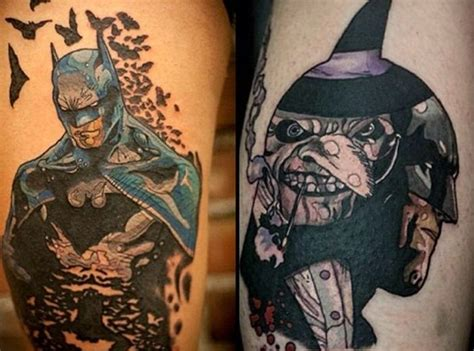 batman light tattoo 35 batman tattoo designs for men and women