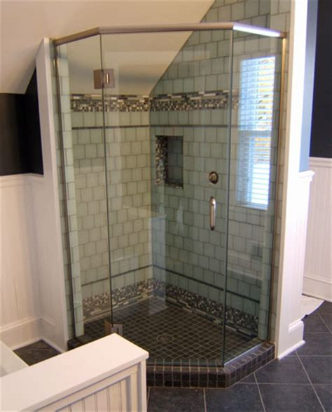 glass l base neo angle frameless shower doors