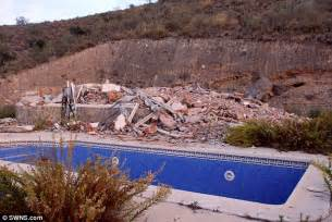 Huge Kitchen Island couple s dream spanish home demolished by planning
