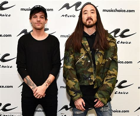 steve aoki one direction louis tomlinson says one direction fans embrace steve aoki