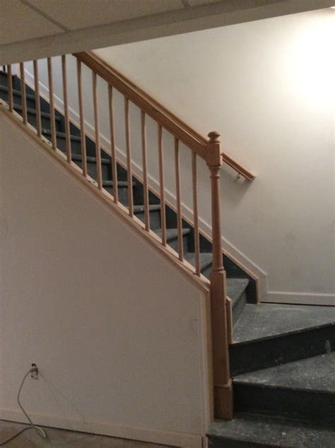 removable stair railing lake traditional