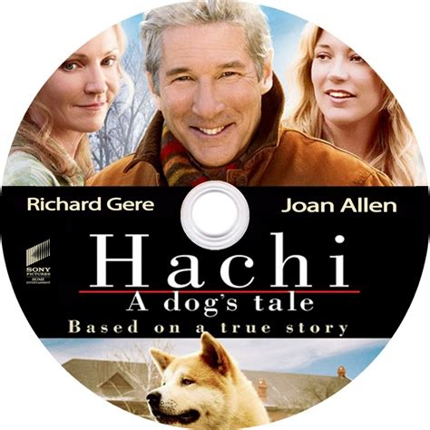 a dogs tale hachi a dogs tale label custom dvd labels hachi cd dvd covers