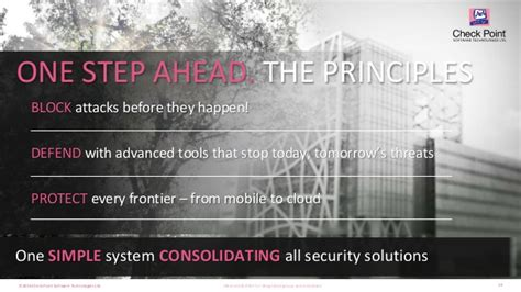 we can stay one step ahead of the stay one step ahead of cyber threats check point