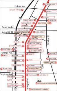 Las Vegas Blvd Map by 302 Found