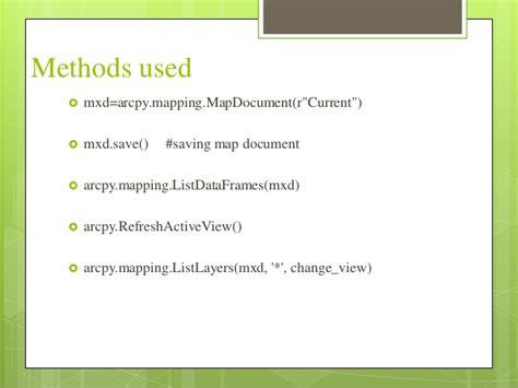 arcpy layout elements symbology automation using arcpy