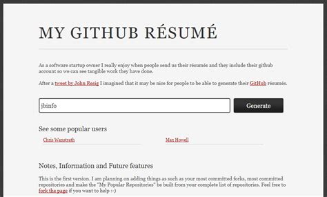 Resume Builder Jquery Github Contributions Resume Builder Lhassan Baazzi Medium