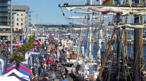 poole harbour boat show record visitor numbers for poole harbour boat show poole