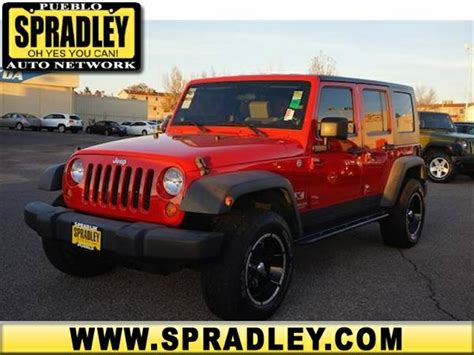 Pueblo Jeep 2007 Jeep Wrangler X For Sale In Pueblo Co