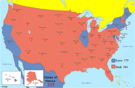 Sections Of The United States by The Contributor What If Mexico Was Part Of The United States