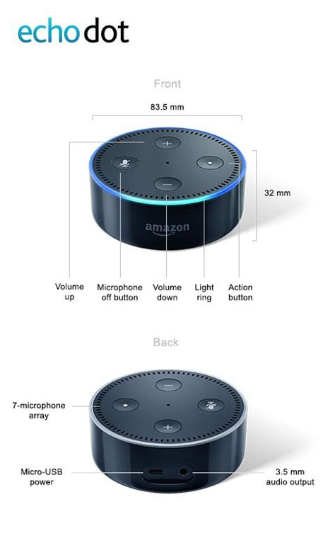 how does alexa control lights new amazon echo black dot 2nd gen alexa voice activated