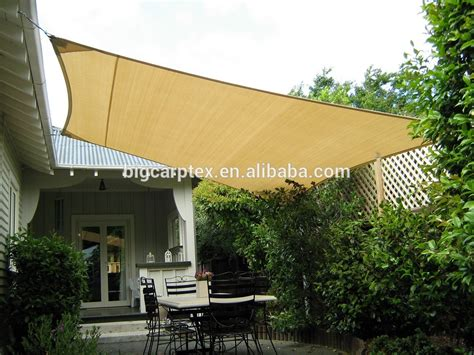 5.4x5.4m Sun Shade Sail Uv Top Outdoor Canopy Patio Lawn