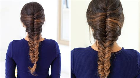 fishtail french braid photos on blacks how to french fishtail braid hair tutorial luxy hair