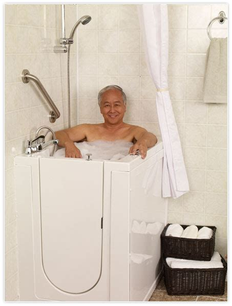 stand up bathtubs bathroom remodeling safe walk in tubs and showers