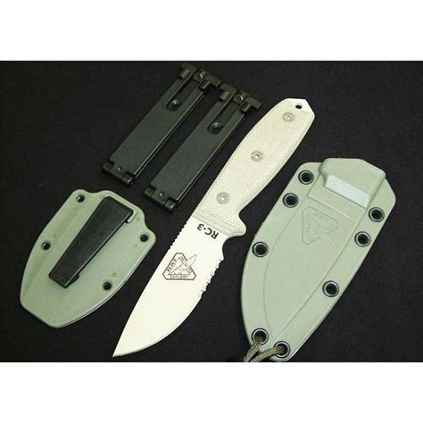 rat cutlery rat cutlery rc 3 desert serrated knife couteau rc3sdt