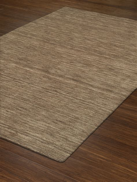 Through Rugs by Dalyn Rafia Rf100 Taupe Area Rug