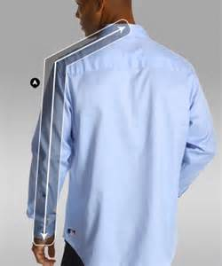 how to measure a man s arms for a dress shirt