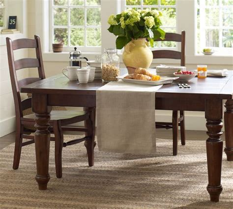 Pottery Barn Kitchen Tables by Sumner Square Fixed Dining Table Pottery Barn 60