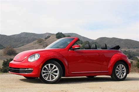 volkswagen convertible bug 2013 volkswagen beetle tdi convertible first drive photo
