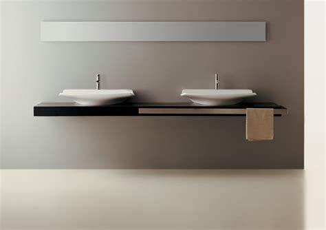 top lavabo bagno top 250 con doppio lavabo fly
