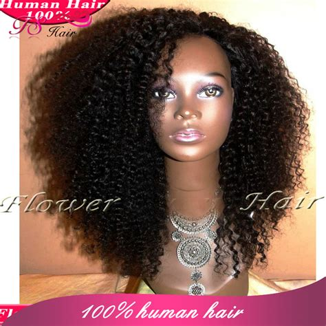 human hair curly half wigs lace front wigs