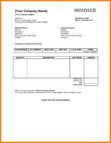 courier invoice template 9 courier bill format in excel cashier resumes