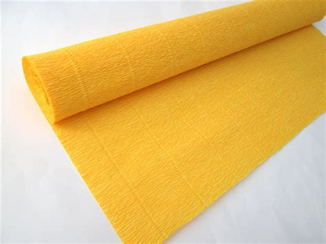 yellow patterned craft paper 5rolls lot 50cm 2 5m diy supplies yellow crepe paper roll