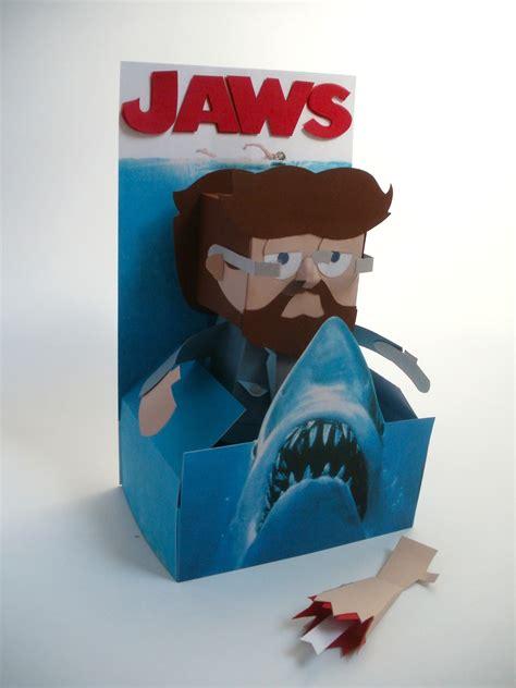 dougy74 design handmade 3d paper toy cardboard madness
