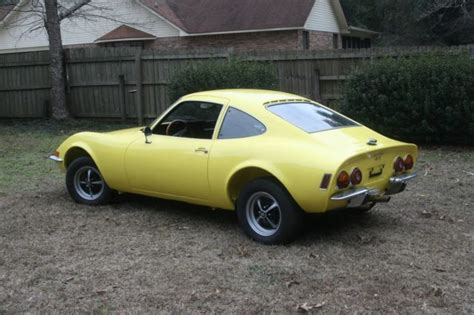 1973 Opel Gt For Sale by Beautiful 1973 Opel Gt 4 Year Restoration Listing One Time