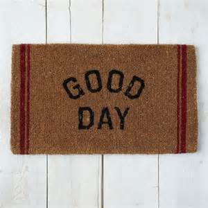 Contemporary Doormat Day Coir Doormat Contemporary Doormats By