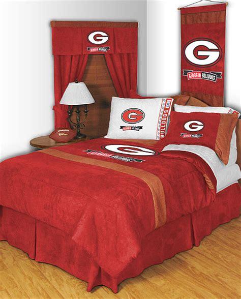 Uga Bedding Set Of Bulldogs Mvp Comforter Sheet Set