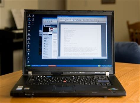 scientist review of lenovo thinkpad t60 widescreen