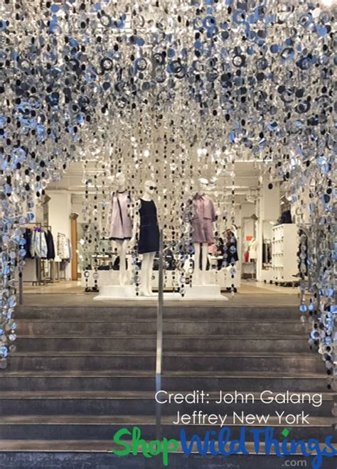 nyc bead stores retail windows display ideas using beaded curtains