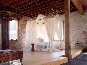 Drapes For Four Poster Bed Dream Loft In Brooklyn Ny The Style Files
