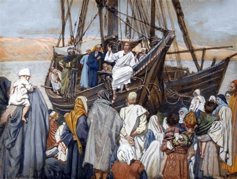 the forever ship the sermon books jesus preaching on a boat