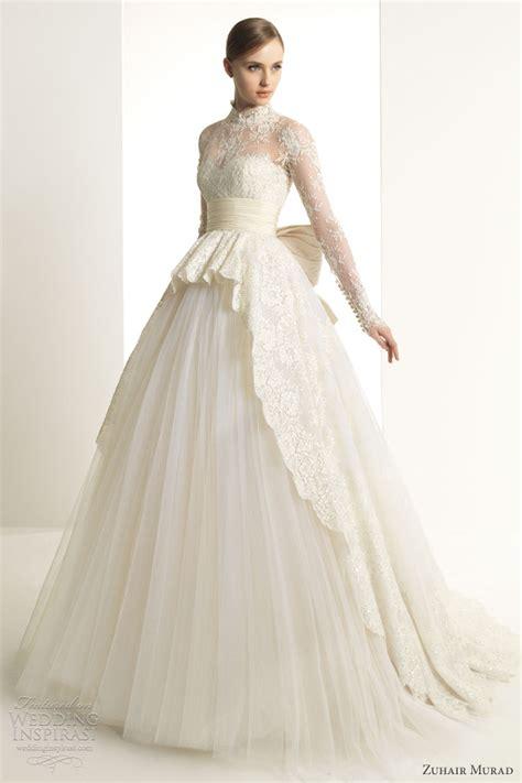 wedding trend ideas long sleeve wedding dress