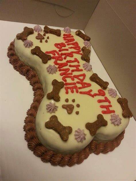 bone shaped dog birthday cake dog cakes puppy cakes dog birthday cakes dog