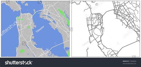 san francisco map vector free vector map of san francisco 51582844