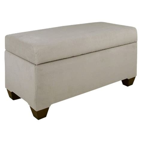 custom upholstered benches skyline custom upholstered storage bench target