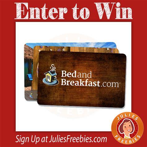 Best Sweepstakes Prizes - best b b breakfast sweepstakes julie s freebies
