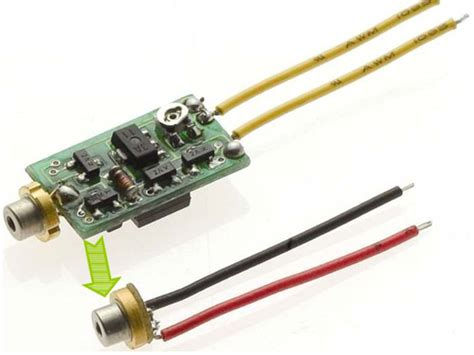diode laser drivers laser diodes with driver circuit integrated inside the to can