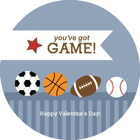 sports valentines cards valentines day cards sports balls and stripes valentines