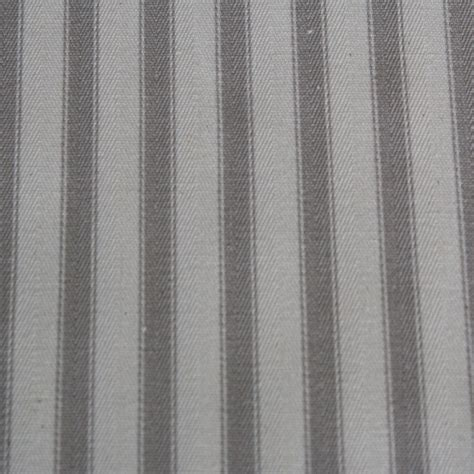 grey fabric curtains acomb ticking stripe curtain fabric charcoal grey ebay