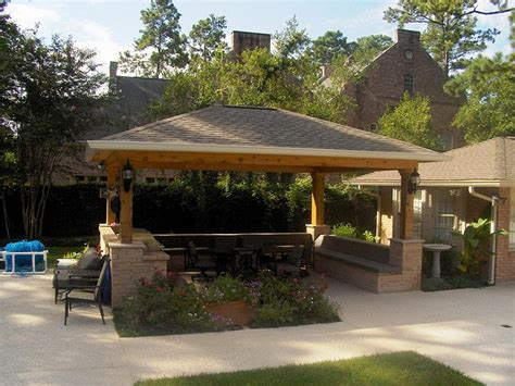 Backyard Outside Gazebo Ideas With Superb Outdoor Kitchen Designs