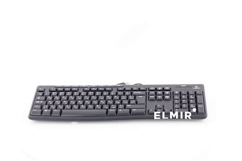 Keyboard Logitech K200 Usb logitech media keyboard k200 ru usb black 920 002779
