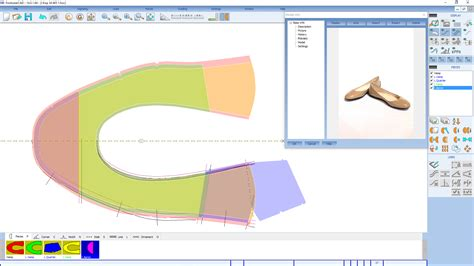 shoes pattern design software pattern design software cad 2d construction systems