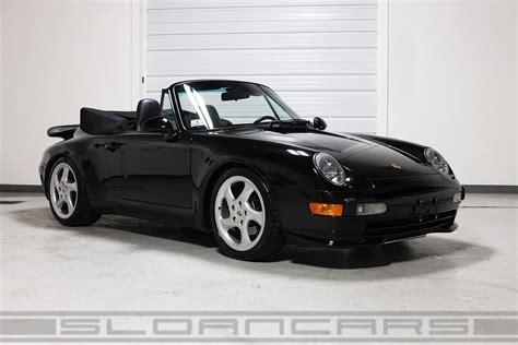 porsche convertible black 1998 porsche 993 cabriolet black 25 864 sloan cars
