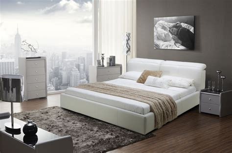 bed head rest graceful leather modern platform bed san jose california