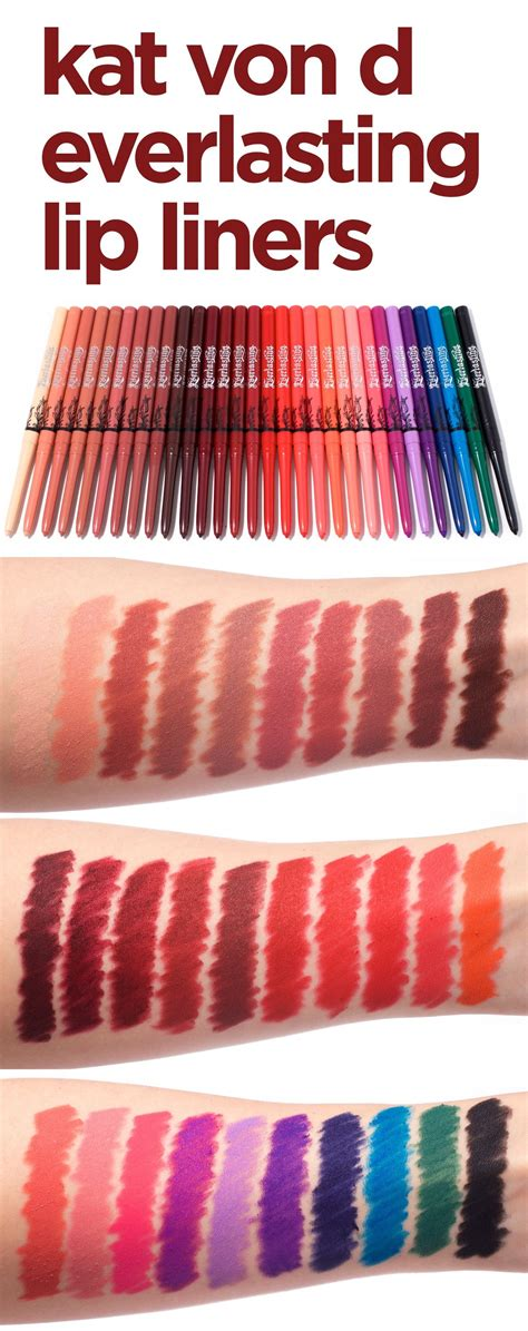Everlasting Lip Liner d everlasting lip liner swatches 30 shades